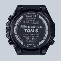 Zegarek  Casio  edifice premium ECB-10TMS-1AER - duże 3