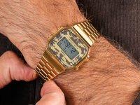 Zegarek Casio VINTAGE Maxi A168WEGC-5EF - duże 6