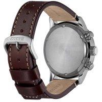 Citizen CA0740-14H zegarek srebrny klasyczny Ecodrive pasek