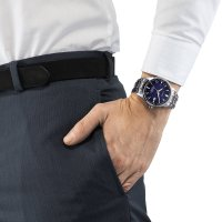 zegarek Citizen CB0190-84L srebrny Radio Controlled