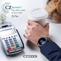 zegarek Citizen MX0007-59X czarny CZ Smart
