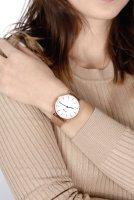 zegarek Cluse CW0101201001 Rose Gold/White Boho Chic mineralne