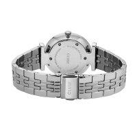 zegarek Cluse CW0101208013 kwarcowy damski Triomphe Silver Salmon Pink Pearl