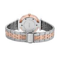 zegarek Cluse CW0101208015 kwarcowy damski Triomphe Rose Gold White Pearl