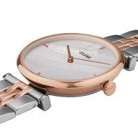 Cluse CW0101208015 zegarek różowe złoto klasyczny Triomphe bransoleta