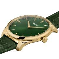 Cluse CW0101212006 Feroce Gold Forest Green Croco zegarek damski klasyczny mineralne