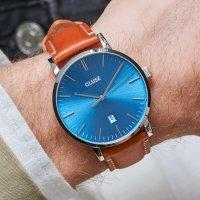 zegarek Cluse CW0101501005 kwarcowy męski Aravis Aravis leather silver blue/light brown