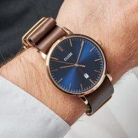 Cluse CW0101501009 męski zegarek Aravis pasek