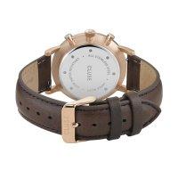 Cluse CW0101502002 zegarek różowe złoto fashion/modowy Aravis pasek