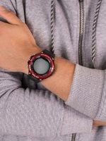 Zegarek czarny Casio ProTrek WSD-F21HR-RDBGE pasek - duże 5