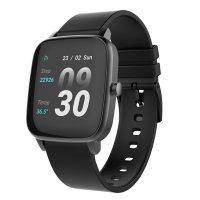 Strand S716USBBVB zegarek czarny fashion/modowy Smartwatch pasek