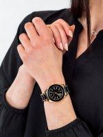 Anne Klein AK-3160BKGB damski zegarek Bransoleta bransoleta