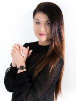 Zegarek czarny fashion/modowy Bering Ceramic 11429-166 bransoleta - duże 4