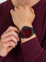 Zegarek czarny fashion/modowy Diesel Chief DZ4460 pasek - duże 5