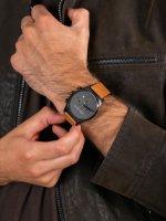 Zegarek czarny fashion/modowy Esprit Męskie ES1G053L0035 pasek - duże 5