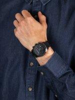 Zegarek czarny fashion/modowy Esprit Męskie ES1G053M0075 bransoleta - duże 5