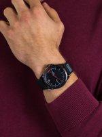 Zegarek czarny fashion/modowy Lacoste Męskie 2011029 pasek - duże 5