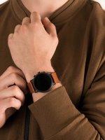 Zegarek czarny fashion/modowy Skagen Falster SKT5201 pasek - duże 5
