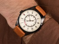 Zegarek czarny fashion/modowy Tommy Hilfiger Męskie 1791372 pasek - duże 6
