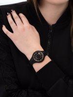 Zegarek czarny fashion/modowy Versus Versace Damskie VSP1R0319 pasek - duże 5