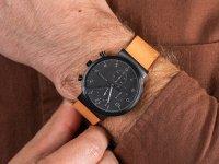 Zegarek czarny klasyczny  Ancher SKW6359 pasek - duże 6