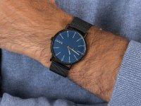 Zegarek czarny klasyczny  Signatur SKW6655 bransoleta - duże 6