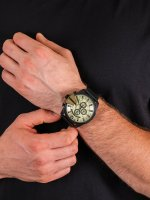 Zegarek czarny klasyczny Diesel Chief DZ4495 pasek - duże 5