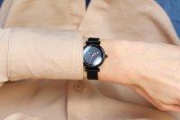 Zegarek czarny klasyczny Fossil Carlie ES4829 bransoleta - duże 7