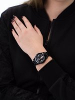 Zegarek czarny klasyczny ICE Watch ICE-Slim ICE.015777 bransoleta - duże 5