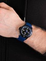 Zegarek czarny klasyczny ICE Watch ICE-Steel ICE.015783 pasek - duże 5