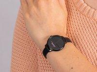 Zegarek czarny klasyczny Lacoste Damskie 2001123 pasek - duże 6
