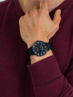 Zegarek czarny klasyczny Nautica Pasek NAPCRF903 pasek - duże 5