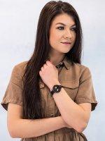 Zegarek czarny klasyczny Pierre Ricaud Bransoleta P22110.B1R4QF bransoleta - duże 4
