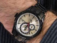 Zegarek czarny klasyczny Rubicon Bransoleta RNDD21BISB03BX bransoleta - duże 6