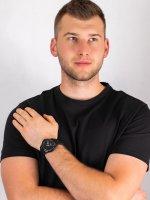 Zegarek czarny klasyczny Tommy Hilfiger Męskie 1791624 pasek - duże 4