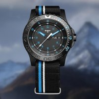 Zegarek czarny klasyczny Traser P66 Tactical Mission TS-105545 pasek - duże 7