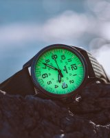 Zegarek czarny klasyczny Traser P67 Officer Pro TS-107424 pasek - duże 8