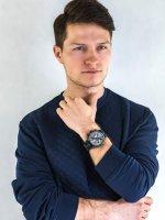Zegarek czarny klasyczny Vostok Europe Expedition 6S21-5954198 pasek - duże 4