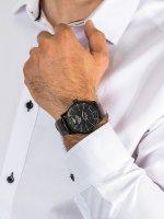 Zegarek czarny klasyczny Vostok Europe Limousine YN85-560C520 pasek - duże 5