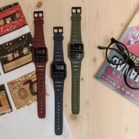 Casio Vintage CA-53WF-1BEF zegarek czarny retro VINTAGE Oldschool pasek