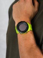 Zegarek czarny sportowy  Ambit3 SS021970000 pasek - duże 5