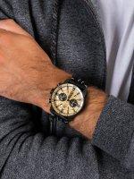 Zegarek czarny sportowy  Ekranoplan 6S21-546C512 pasek - duże 5