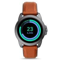 Fossil Smartwatch FTW4055 zegarek szary sportowy Fossil Q pasek
