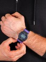 Zegarek czarny sportowy  G-SHOCK Original DW-5600THS-1ER pasek - duże 5