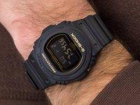 Zegarek czarny sportowy Casio G-Shock DW-5700BBM-1ER pasek - duże 6