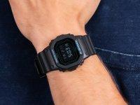 Zegarek czarny sportowy Casio G-SHOCK Original DW-5600BBM-1ER pasek - duże 6