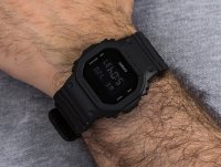 Zegarek czarny sportowy Casio G-SHOCK Original DW-5600BBN-1ER pasek - duże 6