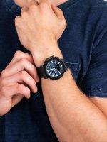 Zegarek czarny sportowy Casio ProTrek PRG-650YL-2ER pasek - duże 5