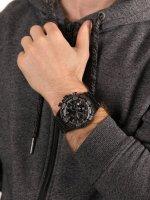 Zegarek czarny sportowy Invicta Bolt 27064 bransoleta - duże 5