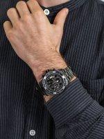 Zegarek czarny sportowy Invicta Pro Diver 22417 bransoleta - duże 5
